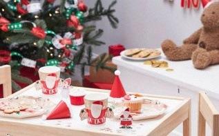 Idées déco et inspirations pour un goûter de Noël d'enfants