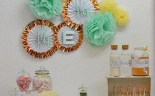 Un anniversaire d'ado : l'anniversaire d'Enola en rose gold et mint