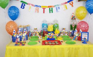 Lego Party : le 5e anniversaire de Jules sur le thème Lego