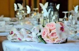 mariage decoration papillons
