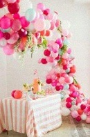 decoration ballons organiques