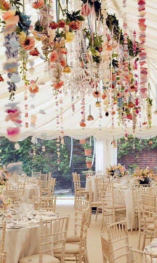 déco fleurs mariage