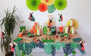 Tropical Party : un anniversaire sur le thème Toucan