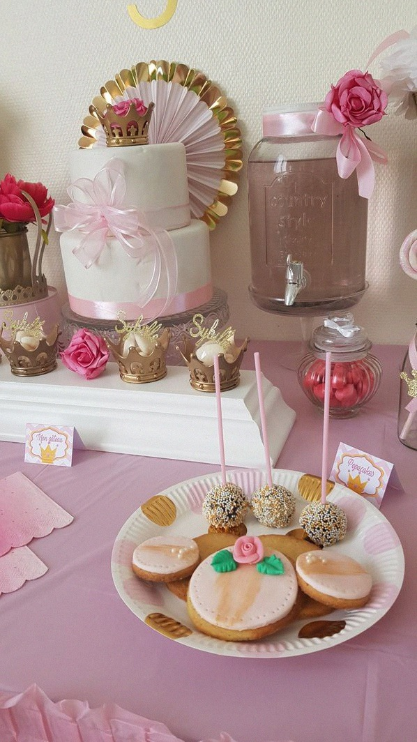anniversaire princesse décoration sweet table princesse