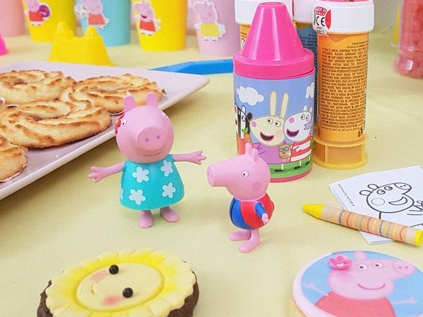anniversaire Peppa Pig décoration peppa pig