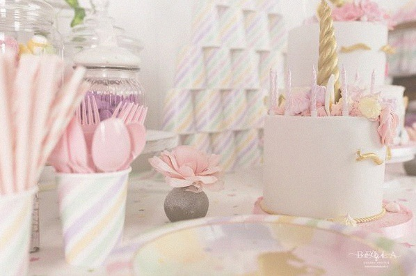sweet table anniversaire licorne décoration licorne