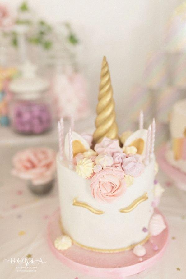 gateau anniversaire licorne
