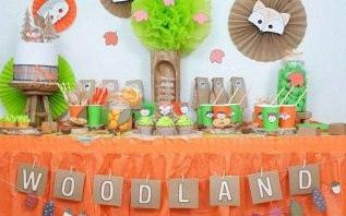 Comment organiser un anniversaire Woodland Animaux de la forêt ?