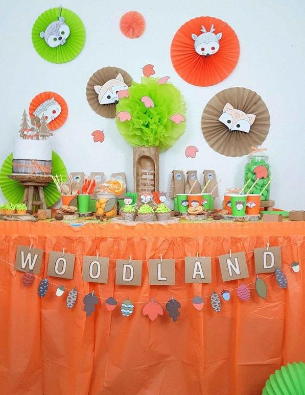 anniversaire woodland
