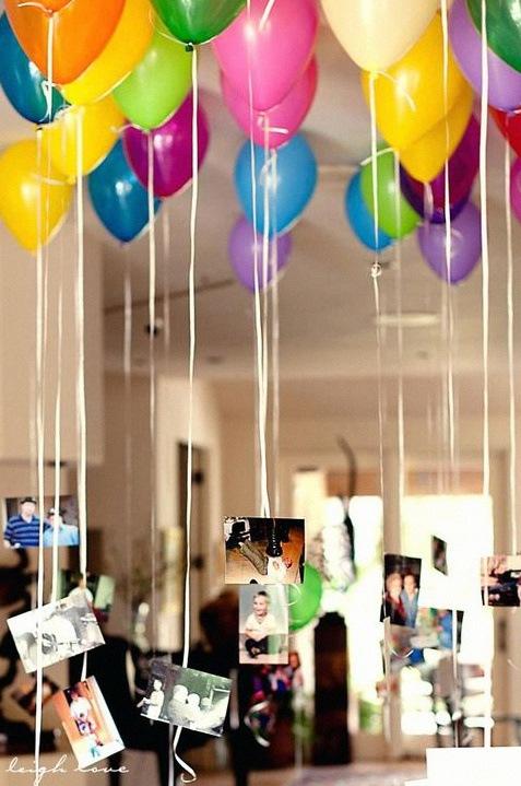ballons plafond photos
