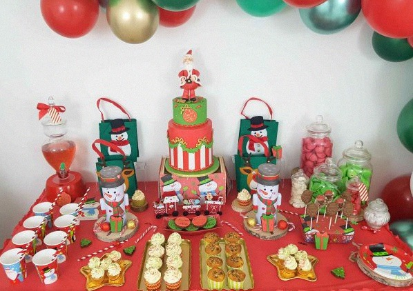 sweet table de noel