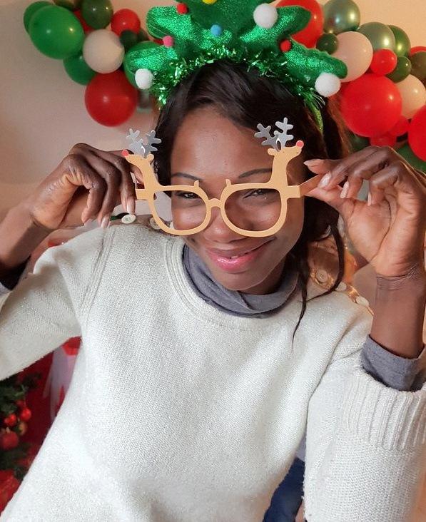 photobooth noel lunettes de noel