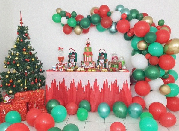 sweet table de noel