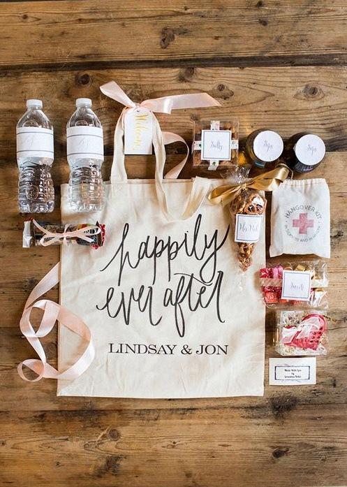 welcome bag mariage