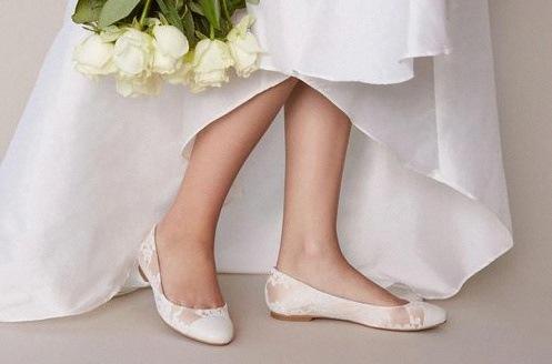 ballerine mariée
