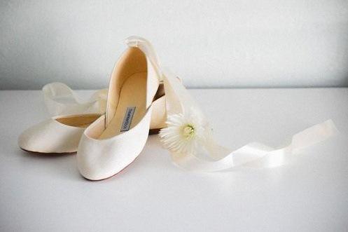 ballerines mariée