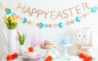 Inspirations décoration de Pâques : 10 jolies sweet table de Pâques