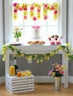 décoration fête des mères