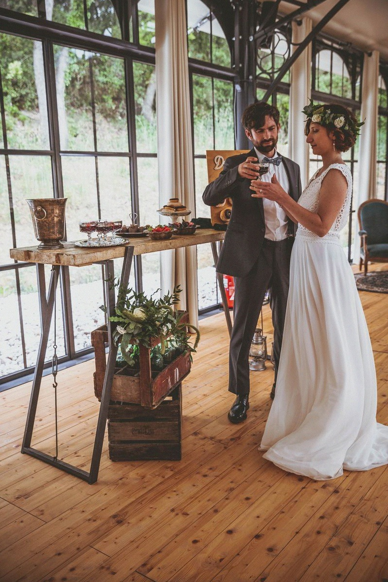 mariage nature industriel new york