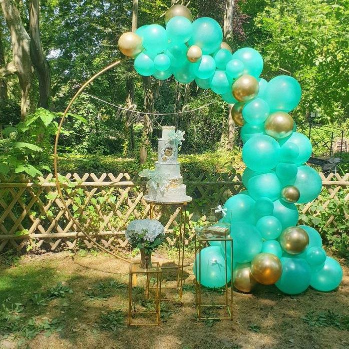 Arche de ballons organiques