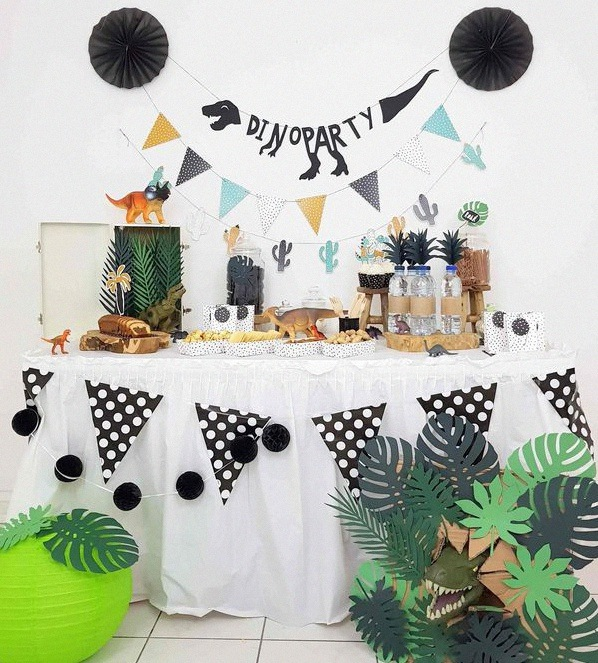 Dino Party Comment Organiser Un Anniversaire Dinosaure My Fair Party