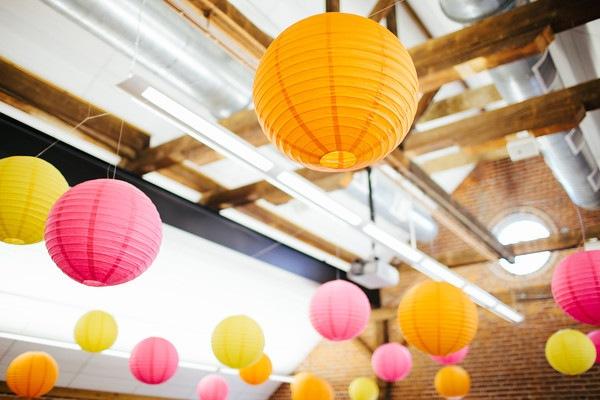 lampion et lanterne en papier pas cher