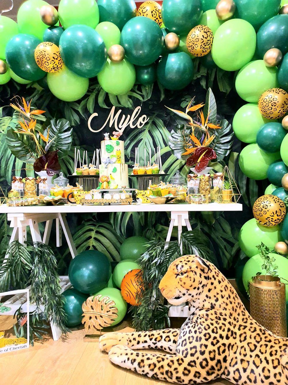 anniversaire Jungle