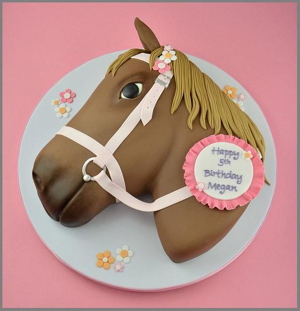 gateau poney