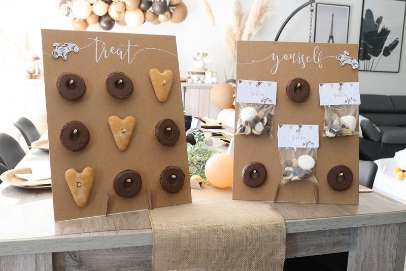 décoration donuts