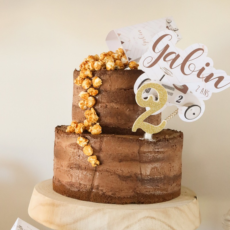 naked cake anniversaire