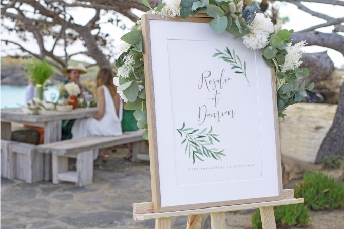 panneaux de mariage
