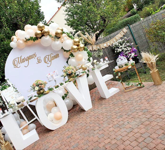 buffet mariage love