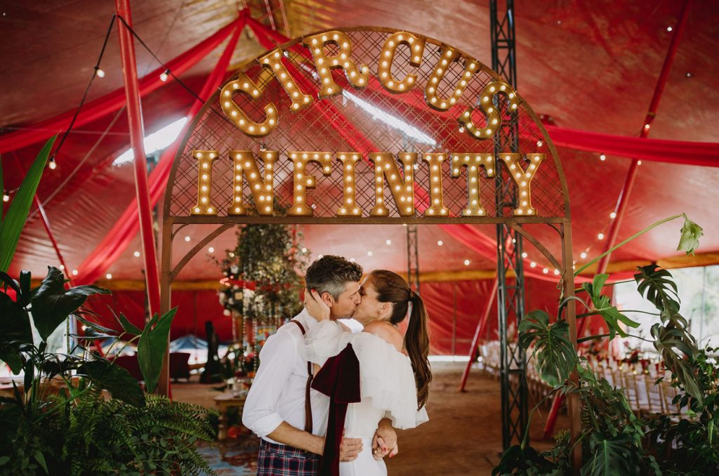 mariage chapiteau